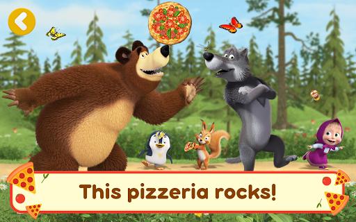 Masha and the Bear Pizzeria Game! Pizza Maker Game  screenshots 15