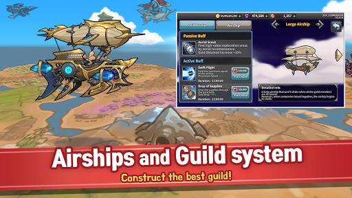 Raid the Dungeon : Idle RPG Heroes AFK or Tap Tap Apkfinish screenshots 14