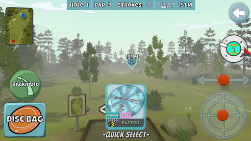 Disc Golf Valley 1.045 screenshots 4