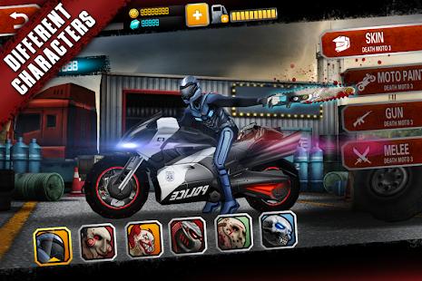 Death Moto 3 : Fighting Bike Rider Unlimited Money