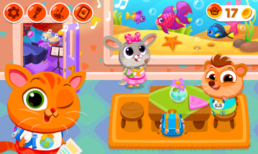 Bubbu School – My Cute Animals Mod Apk (Unlimited Money + Unlocked) 1.05 2