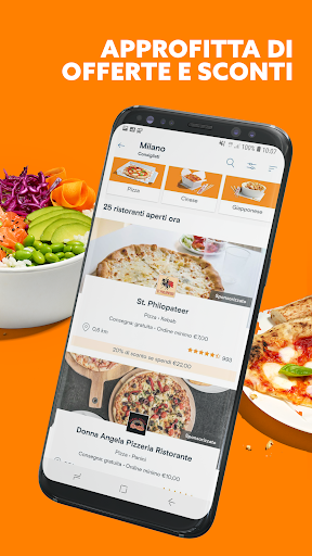 Just Eat Italy - Ordina pranzo e cena a Domicilio apktram screenshots 3