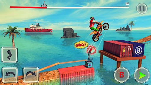 Bike Stunt Race 3d Bike Racing Games - Free Games apkpoly screenshots 3
