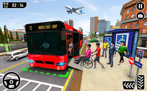 Modern City Coach Bus Simulator: Bus Driving Games  screenshots 2