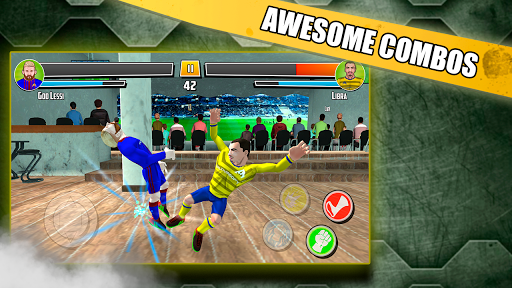 Soccer fighter 2019 - Free Fighting games 2.4 screenshots 2