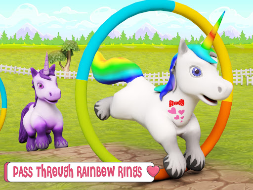 Baby Unicorn Wild Life: Pony Horse Simulator Games 1.2.5 screenshots 10