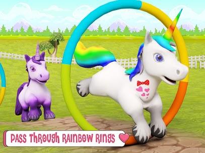 Unicorn Wild Life Fun: Pony Horse Simulator Games 10