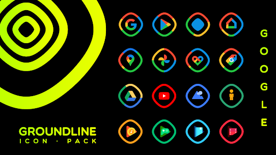 Groundline Icon Pack APK Paid 3