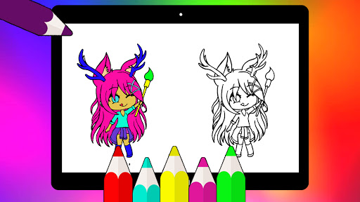 Coloring Pages for Gacha Club 2021 screenshots 8