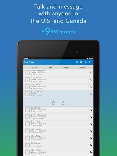 Line2 - Second Phone Number 4.2.2 Screenshots 14