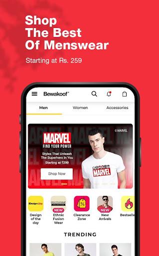 Bewakoof - Online Shopping App for Men & Women  screenshots 2