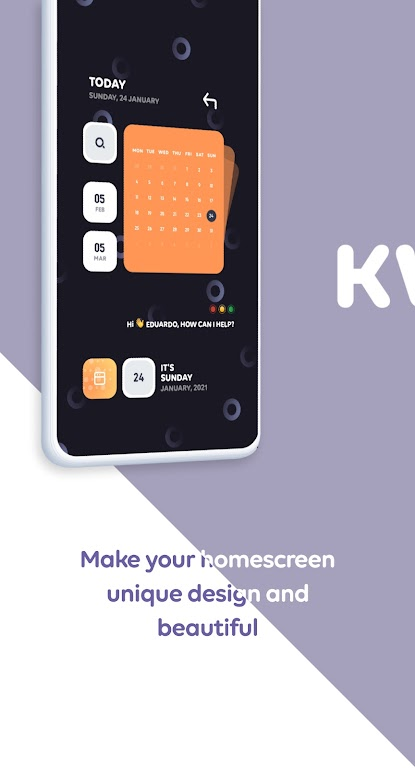 Spring KWGT  poster 3