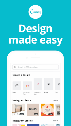 Canva: Design, Photo & Video screen 0