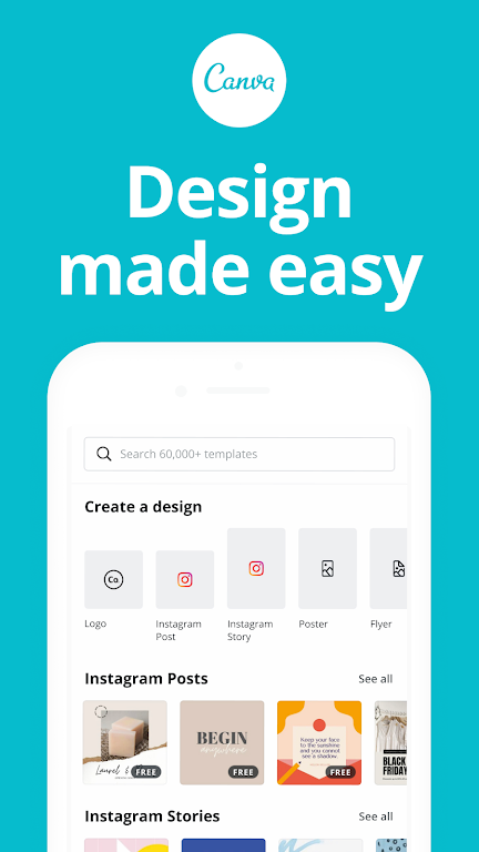 Canva: Design, Photo & Video poster 0