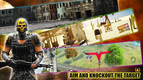 3D Squad Free Fire Battleground Team Shooter 2021 1.8 Screenshots 5