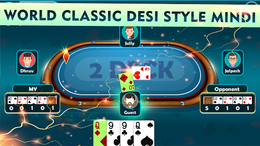 Mindi - Offline Indian Card Game 3.7 screenshots 6