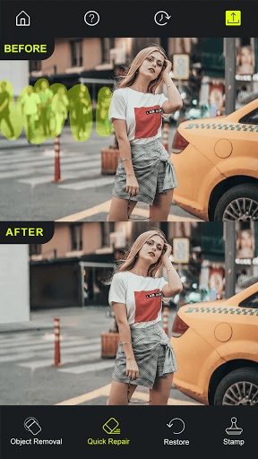 Photo Retouch - AI Remove Objects, Touch & Retouch 2.0 Screenshots 2