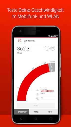 Vodafone SpeedTest  screenshots 1