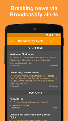 Scanner Radio - Fire and Police Scanner modavailable screenshots 5