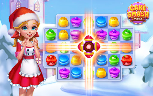 Cake Smash Mania - Swap and Match 3 Puzzle Game  screenshots 23