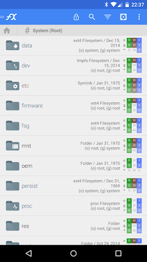 File Explorer (Root Add-On) 1.0.2 Screenshots 1