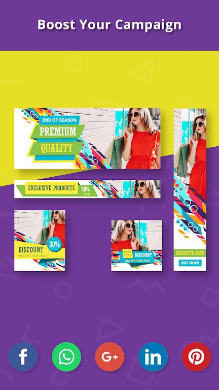 Banner Maker, Thumbnail Creator, Cover Photo Maker  poster 6