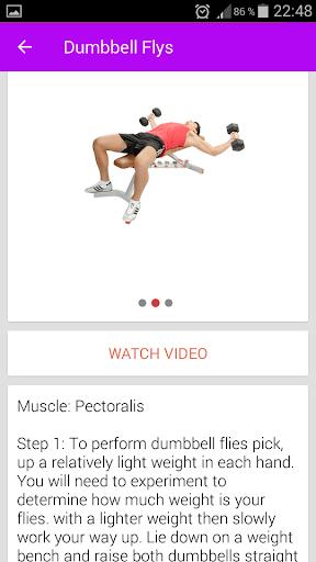 Fitness & Bodybuilding Pro 1.0 Screenshots 4