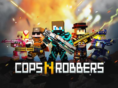 Cops N Robbers – 3D Pixel Craft Gun Shooting Games 9