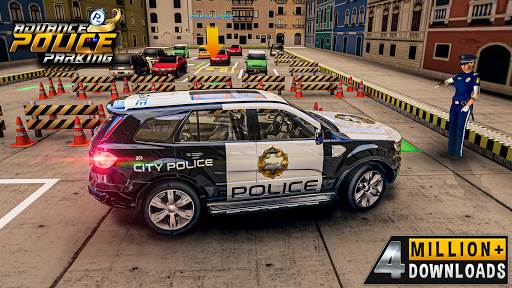 Advance Police Parking- New Games 2021 : Car games  screenshots 1