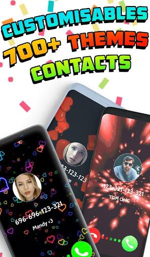Color Screen Phone, Call Flash Themes - Calloop 3.4 Screenshots 4