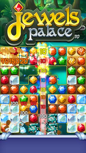 Jewels Palace: World match 3 puzzle master apkslow screenshots 7