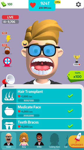 Idle Makeover apktreat screenshots 2
