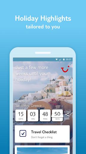 TUI Holidays & Travel App: Hotels, Flights, Cruise modavailable screenshots 2