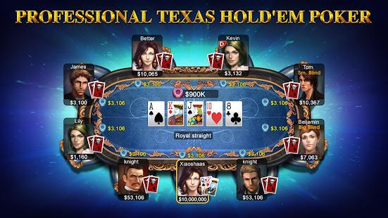 DH Texas Poker - Texas Hold'em 2.8.5 Screenshots 1