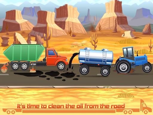 Kids Truck Games: Car Wash & Road Adventure android2mod screenshots 3