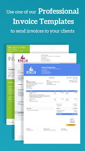 Simple Invoice Manager - Invoice Estimate Receipt apktram screenshots 4