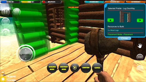Télécharger Gratuit Forêt de survie: Survivor Home Builder  APK MOD (Astuce) screenshots 1