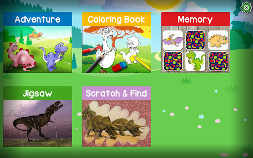 Kids Dino Adventure Game - Free Game for Children screenshots 14