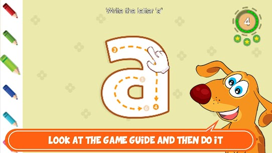 writing ABC kıds APK for Android 3