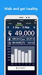 screenshot of Pedometer - Free Step Counter App & Step Tracker