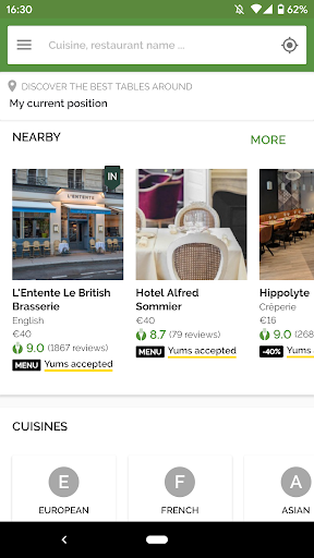 TheFork - Restaurants booking and special offers 17.2.1 Screenshots 4