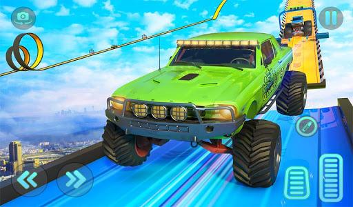 Monster Truck Mega Ramp Stunts Extreme Stunt Games screenshots 15