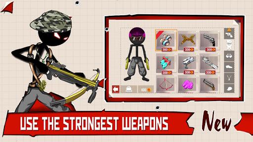 Stickman Shooter : Gun Shooting Games apklade screenshots 2
