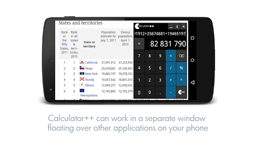 Calculator ++ Screenshot