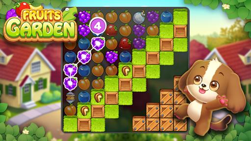 Fruits Garden : Jeu de puzzle d'association APK MOD – ressources Illimitées (Astuce) screenshots hack proof 2
