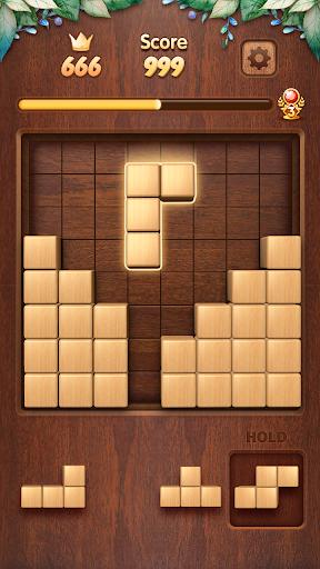 Wood Block Puzzle 3D - Classic Wood Block Puzzle apktram screenshots 4