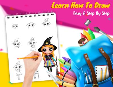 Free DRAWELY – sevimli kız ve boyama kitabı nasıl 5