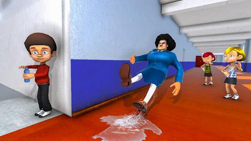 Scary Evil Teacher Games: Neighbor House Escape 3D 0.8 screenshots 2