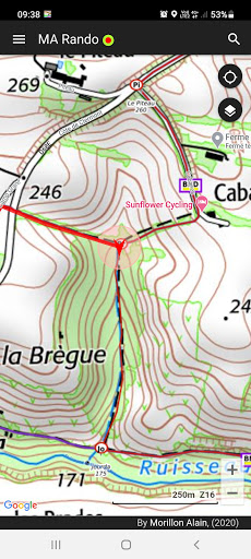 GPS for Hiking, Cycling, Hunting and offline maps modavailable screenshots 2