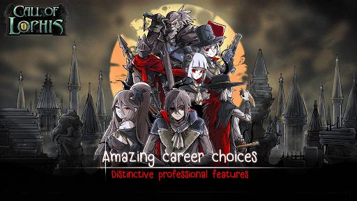 Lophis Roguelike:Card RPG game,Darkest Dungeon apkdebit screenshots 6